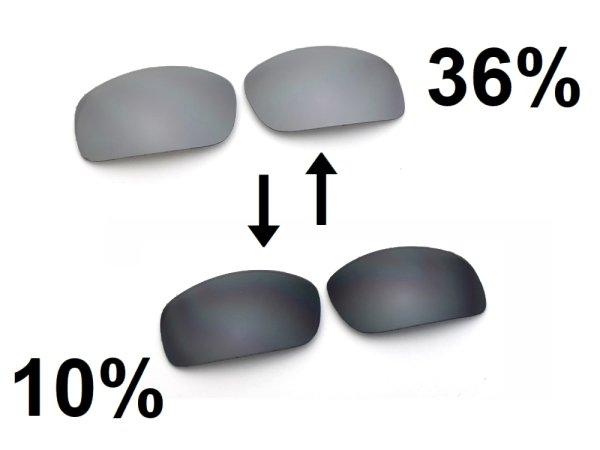 Photo3: NXT® POLARIZED VARIA™ - Flash Black / Polarized Photochromic Lens for other frames