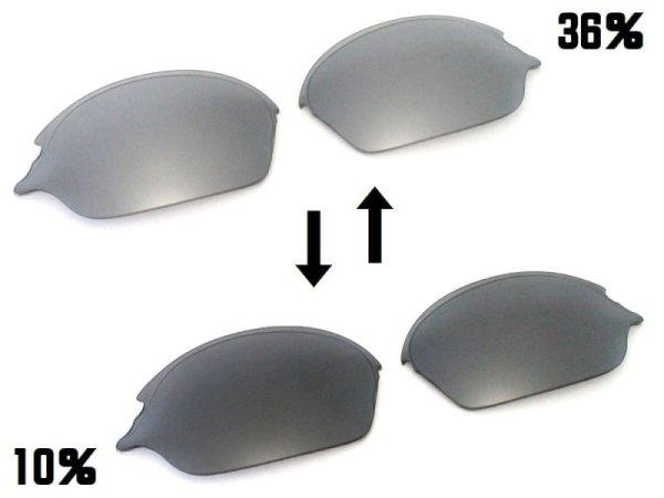 Photo2: ROMEO2 - Flash Black - NXT® POLARIZED VARIA™ Photochromic