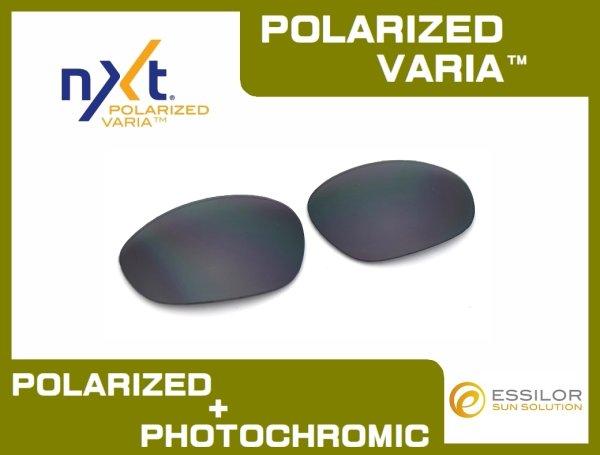 Photo1: X-METAL XX - Flash Black - NXT® POLARIZED VARIA™ Photochromic