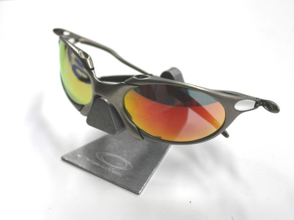 Photo3: Used / Oakley Sunglass Display Stand Aluminum 1 tier