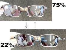 Other Photos1: X-SQUARED - Titanium Clear - NXT® VARIA™ - Photochromic